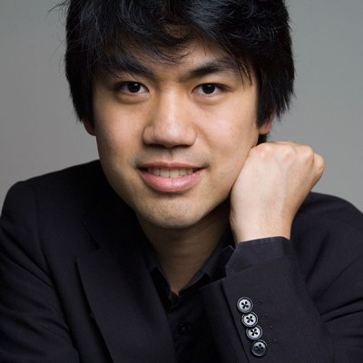 Sean Chen with the Carmel Symphony Orchestra