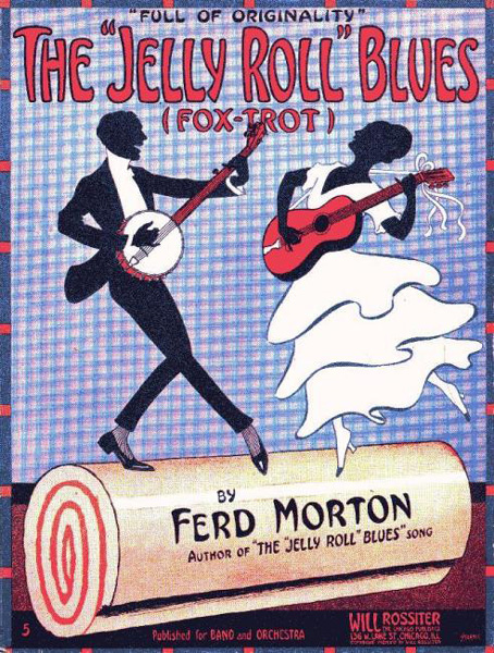 Cover of sheet music by Jelly Roll Morton