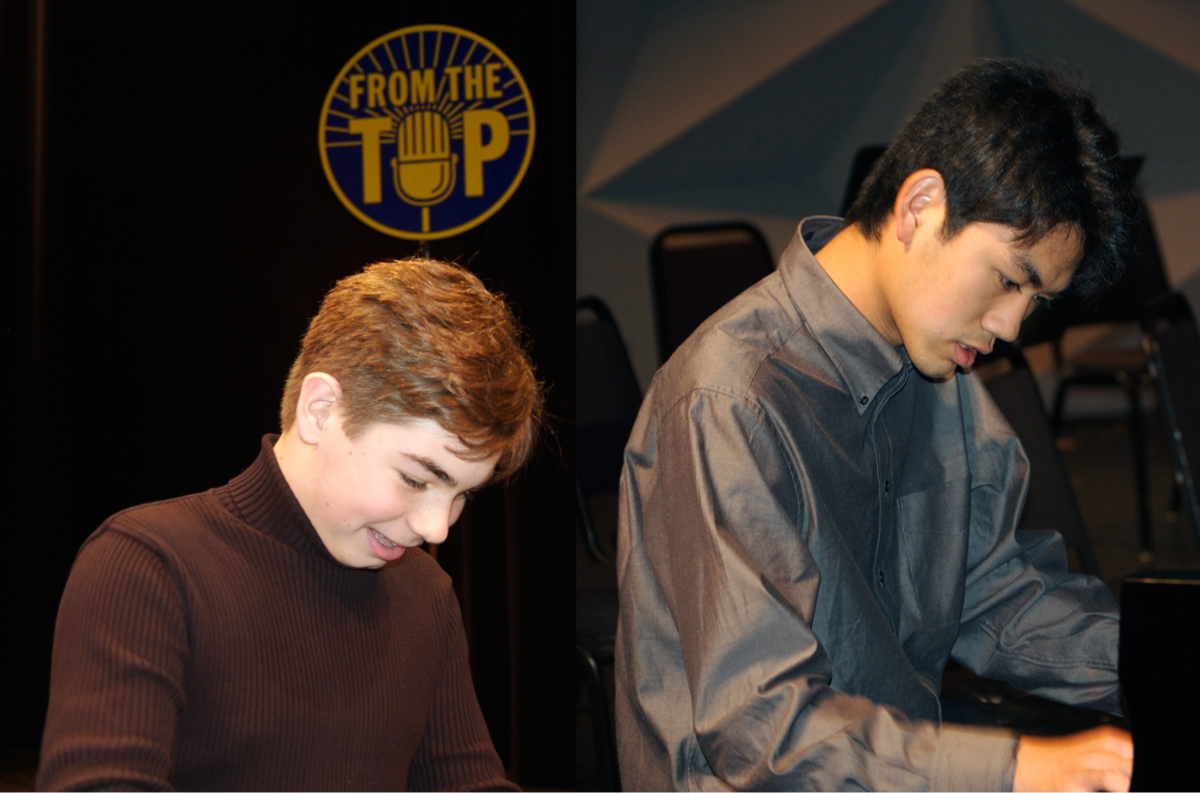 Awards winners Drew Petersen & Sean Chen (credit: From the Top)